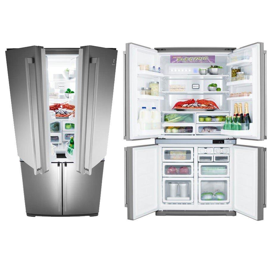 Tủ lạnh Electrolux EQE6807SD 4 cánh cửa tiện lợi sử dụng