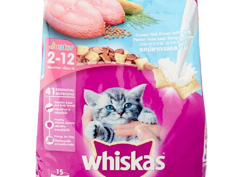 Thức ăn cho mèo Whiskas của Mỹ