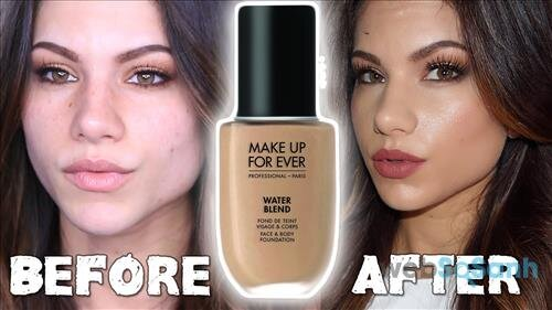 Trải nghiệm khi dùng Makeup For Ever Water Blend