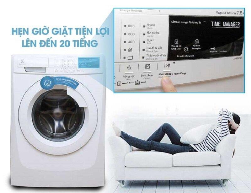 máy giặt electrolux lồng ngang