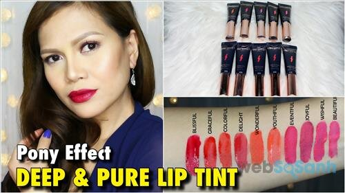 Pony Effect Deep and Pure Lip Tint