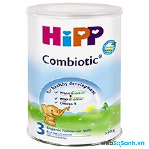 Sữa bột Hipp 3 Combiotic Organic