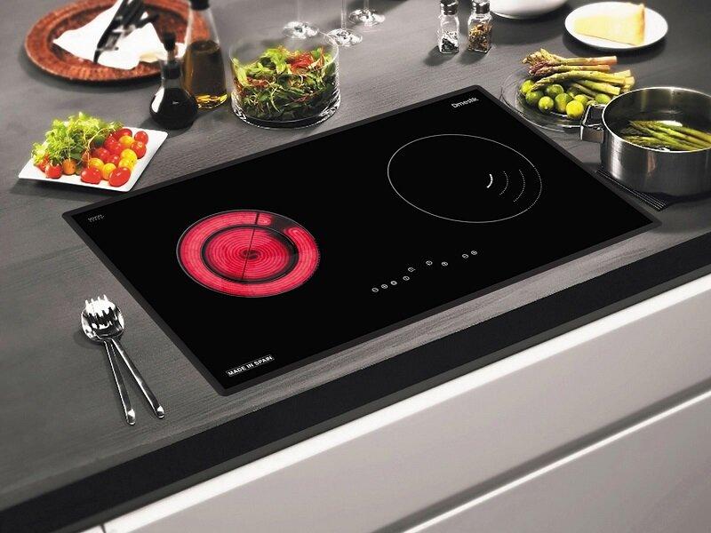 Bếp từ cho hiệu suất nấu nướng được đánh giá cao