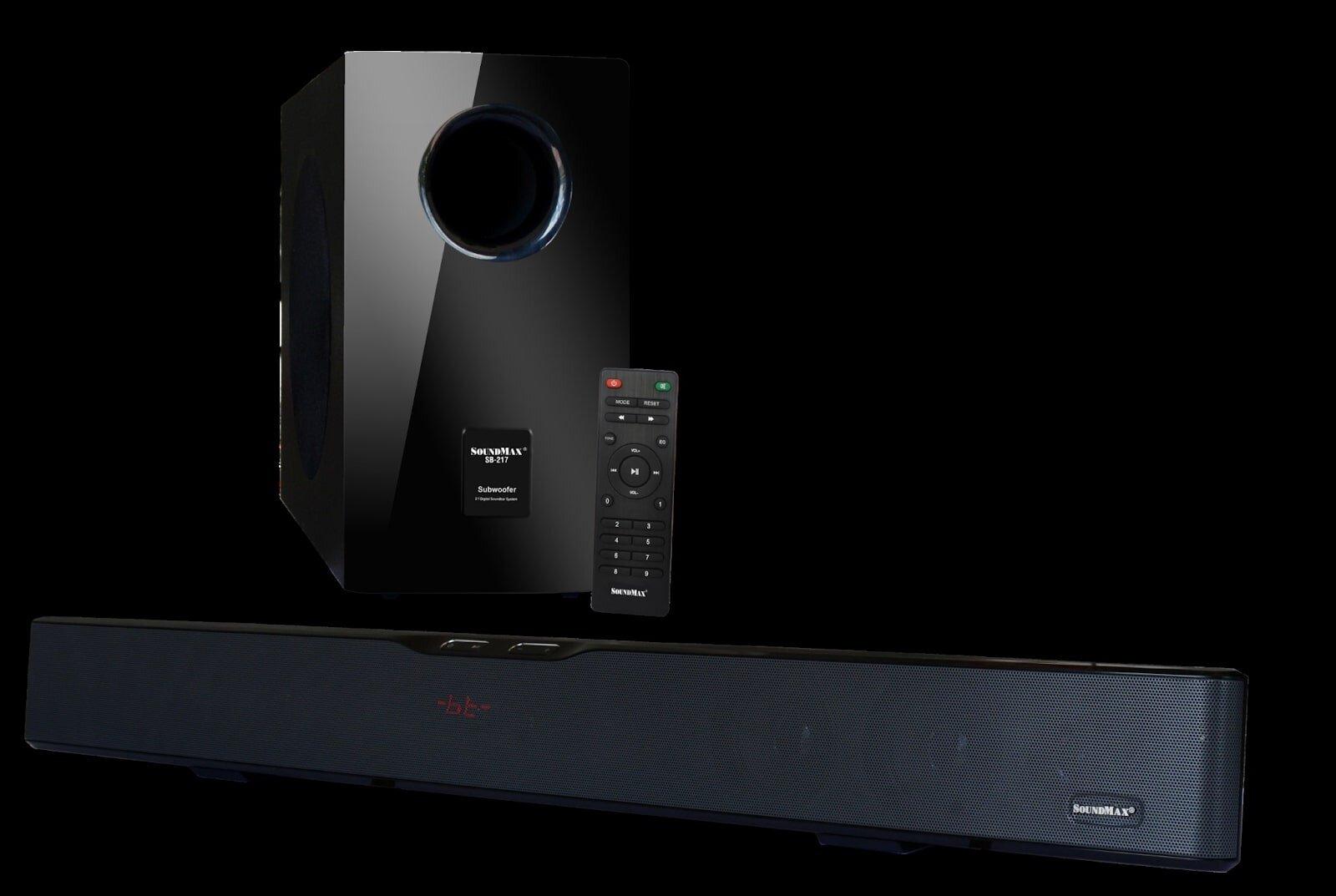 Loa Soundbar 2.1ch Soundmax SB217 sản phẩm loa có chất lượng cao