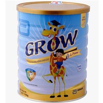 Sữa bột Abbott Grow G -Power 3+ 900g