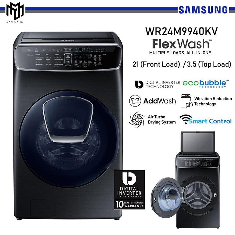 Công nghệ Air Wash trên máy giặt SamSung giúp máy giặt có thể làm sạch và khử mùi
