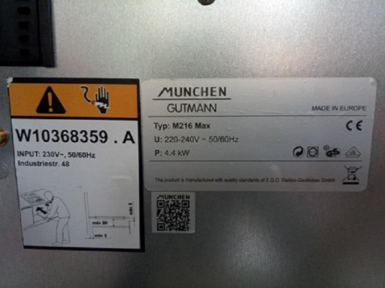 Bếp từ munchen và linh kiện chất lượng