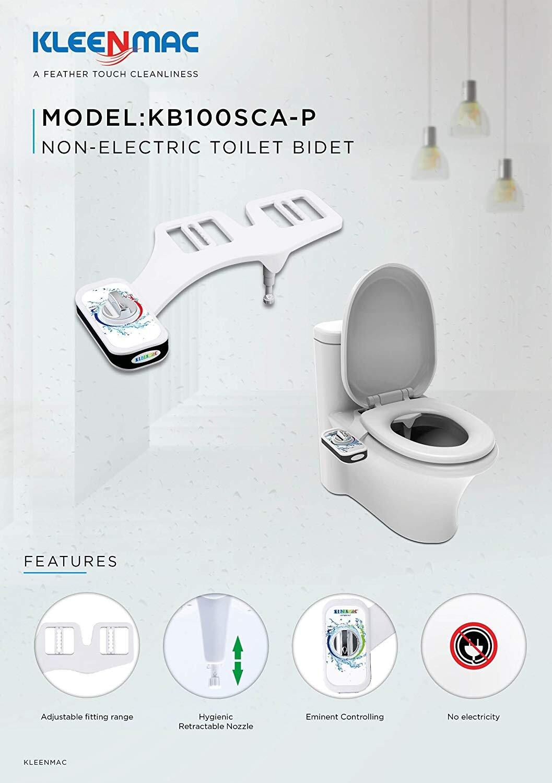 Vòi rửa vệ sinh tự động Kleenmac tiện lợi