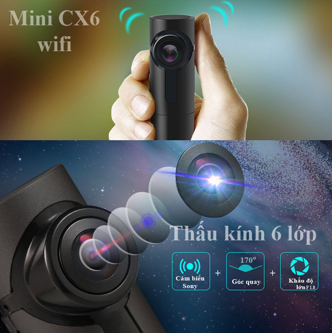 Camera mi CX6 wifi