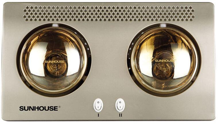 Đèn sưởi nhà tắm Sunhouse loại 2 bóng
