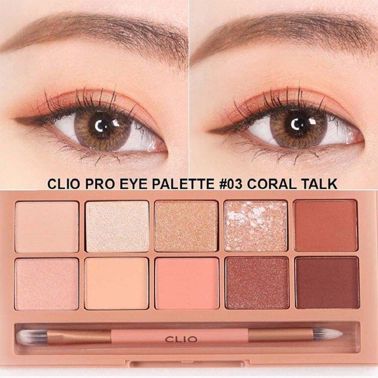 sử dụng phấn mắt clio