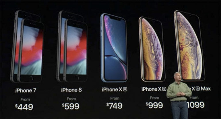 Điện thoại iPhone 2018 mới ra mắt thì các dòng iPhone cũ, iPhone X, iPhone 8, iPhone 7 có giảm giá không?