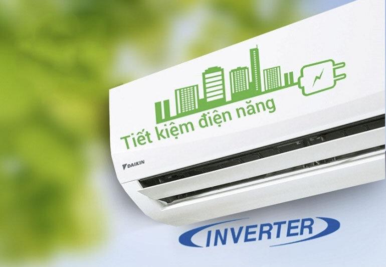 Điều hoà Daikin nổi bật với công nghệ tiết kiệm điện siêu Việt