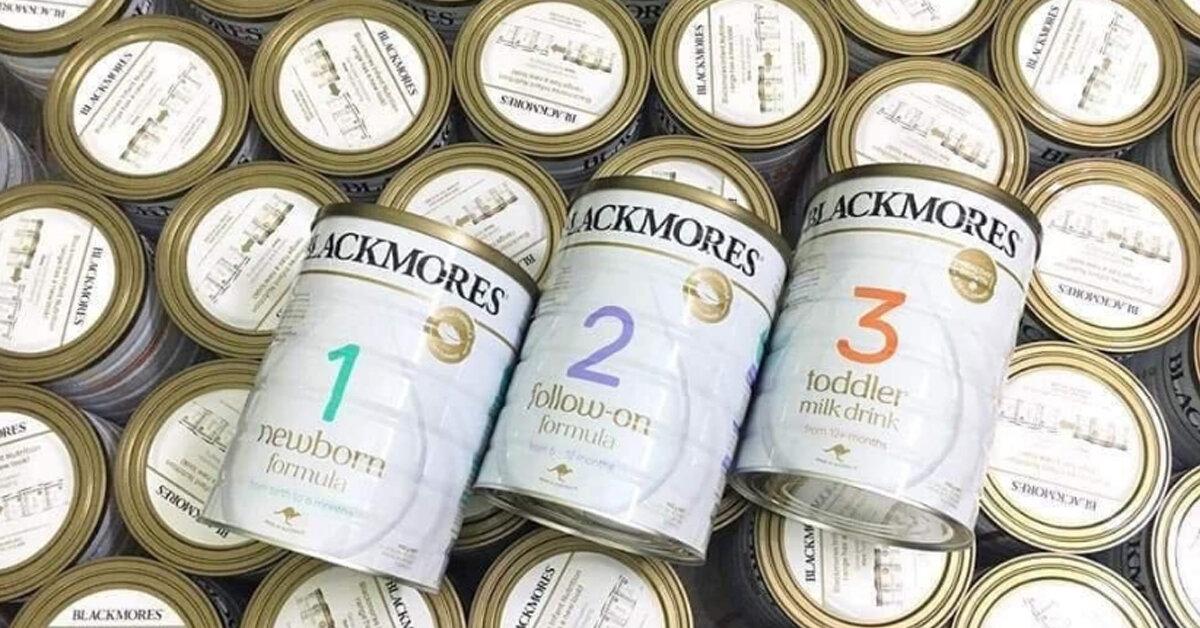 Nguồn gốc xuất xứ của sữa Blackmores số 1