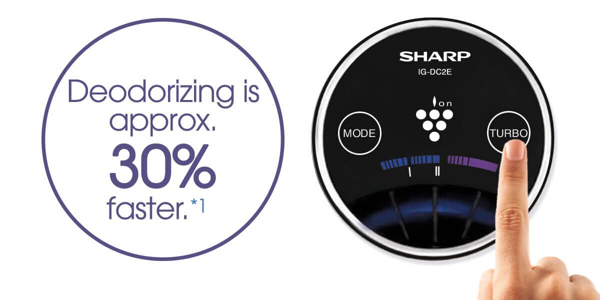 Sản phẩm máy lọc không khí của Sharp với nhiều tính năng được bán với giá ưu đãi tại Adayroi