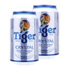 Bia Tiger Crystal lốc 2 lon x 330ml