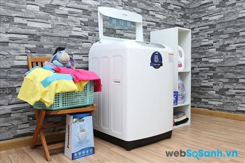 Samsung WA90F5S3QRW/SV được trang bị 6 chế độ giặt khác nhau