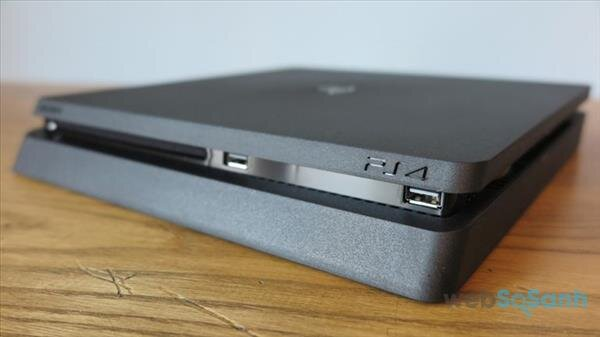 PS4 Slim có thiết kế 'độc' hơn so với người tiền nhiệm