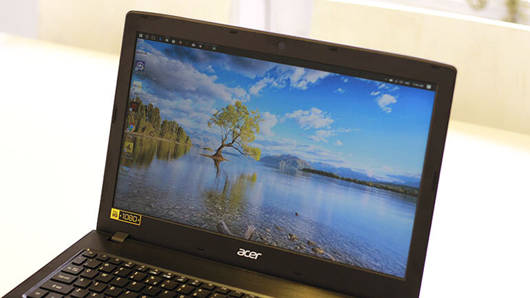 Laptop Acer Aspire E5: chiếc máy tính