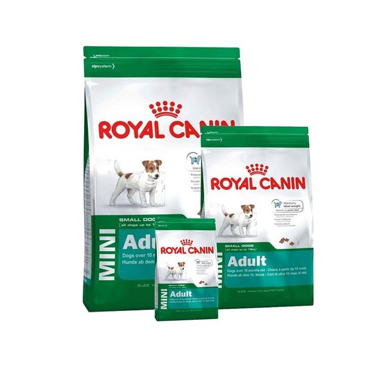 Thức ăn cho chó Royal Canin có nhiều loại dành cho các dòng chó khác nhau