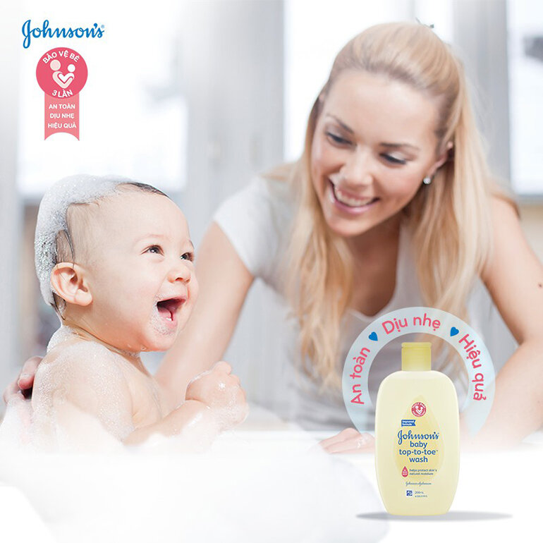 Sữa tắm Johnson's Baby (Nguồn: shopee.vn)