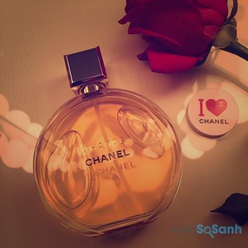 Nước hoa nữ Chanel Chance Eau de toilette