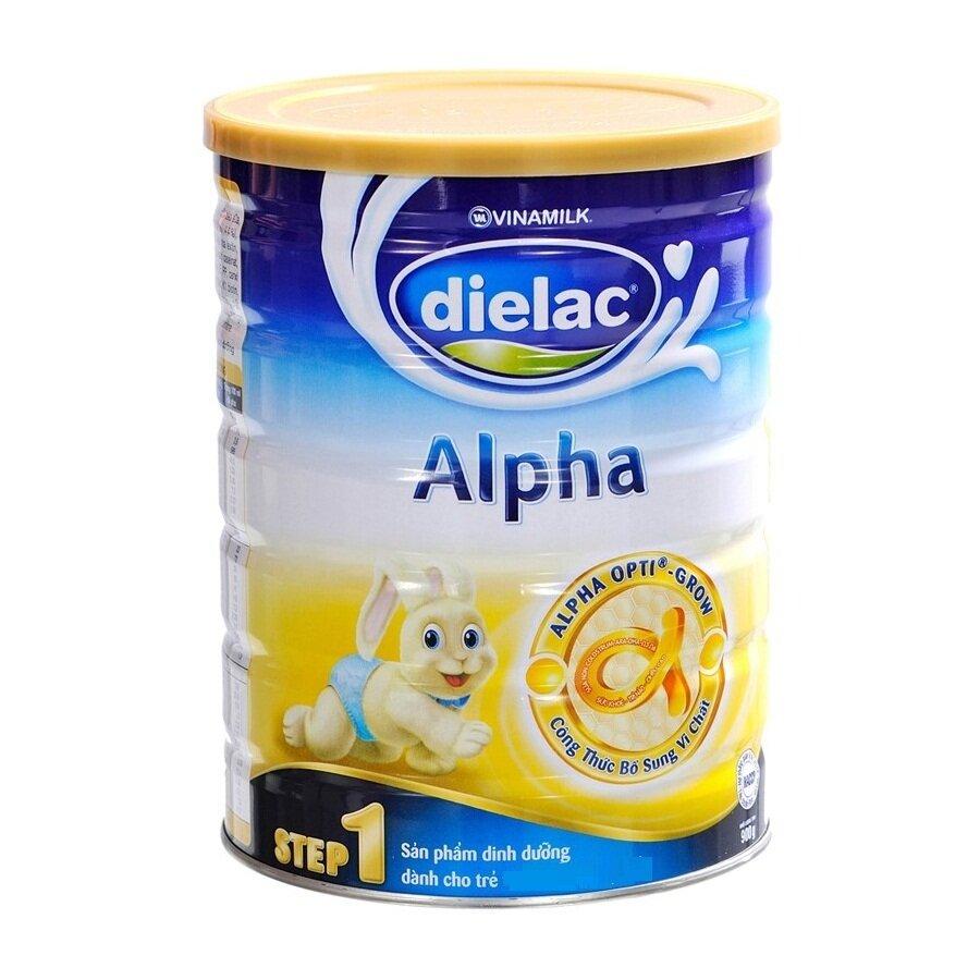 Sữa Dielac Alpha cho trẻ dưới 1 tuổi