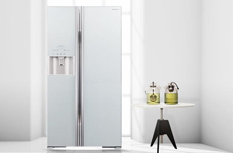 Tủ lạnh Inverter R-S700GPGV2(GS) của Hitachi 589 lít