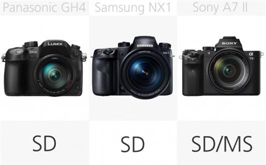 High-end mirrorless camera SD comparison (row 2)