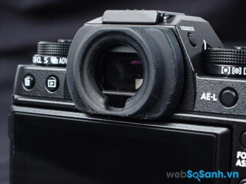 Máy ảnh Fujifilm X-T1 có ống ngắm 0.77x độ phân giải 2,36 triệu chấm