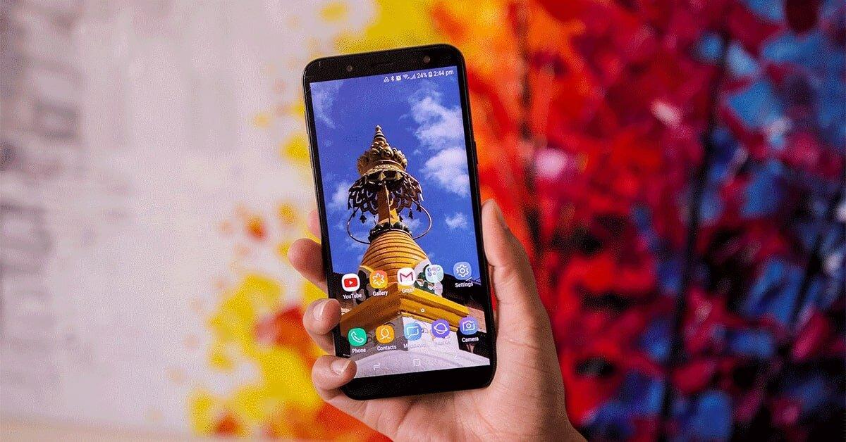 Samsung Galaxy J6 với thiết kế đẹp đến từng đường nét