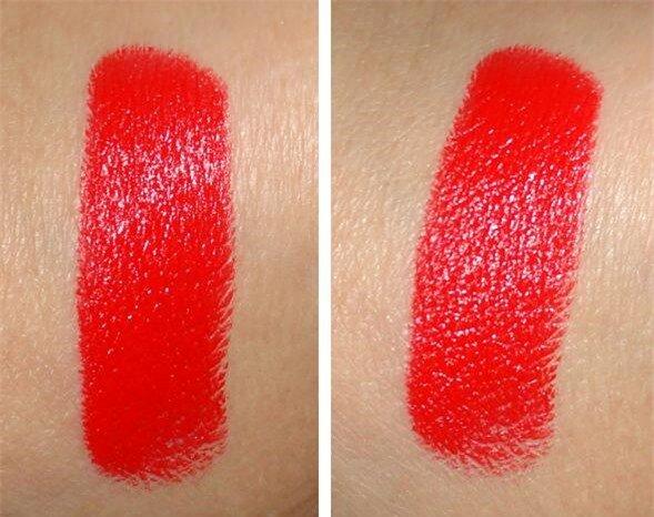 lady danger lipstick swatch
