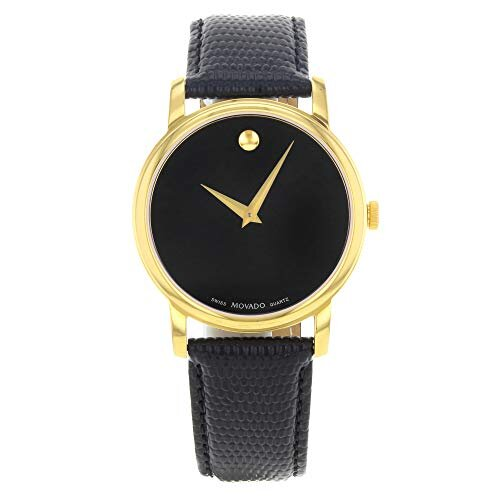 Đồng hồ Movado Men's 2100005 Museum Gold Classic Leather