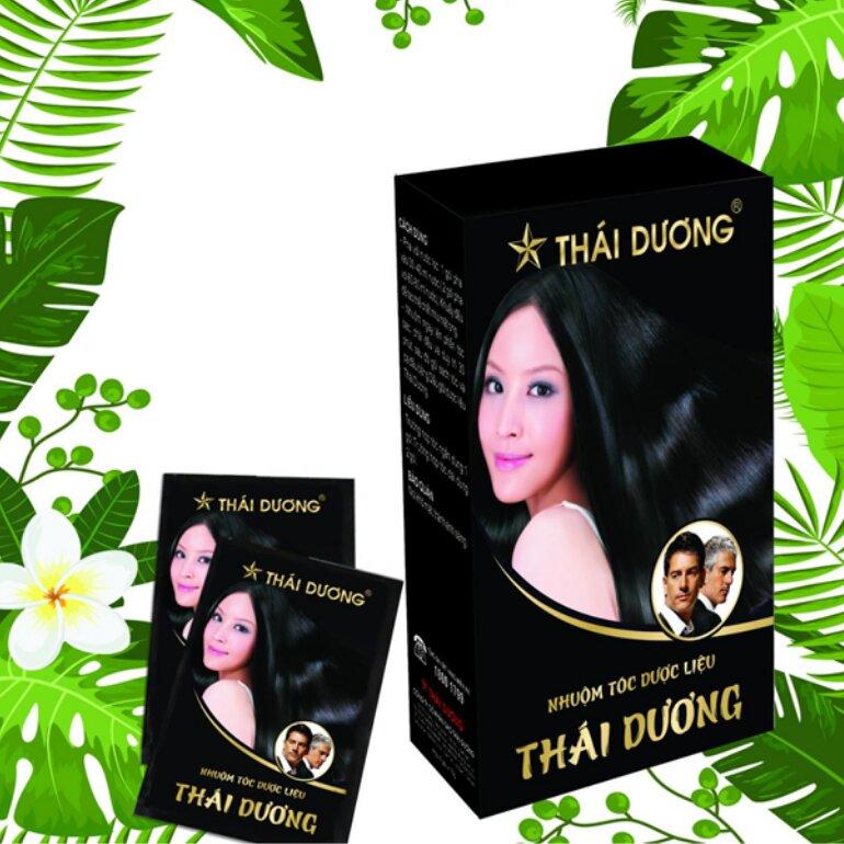 Thuốc nhuộm tóc thảo dược Thái Dương