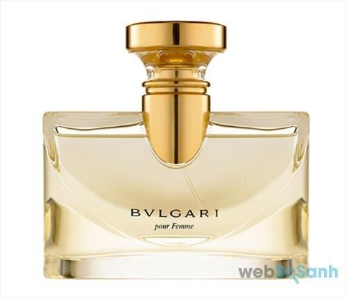 Nước hoa nữ Bvlgari Pour Femme mang mùi hương nữ tính, quyến rũ và sang trọng