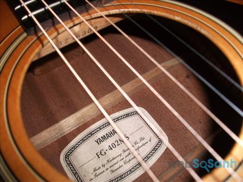 dấu hiệu nhận biết đàn guitar yamaha thật giả
