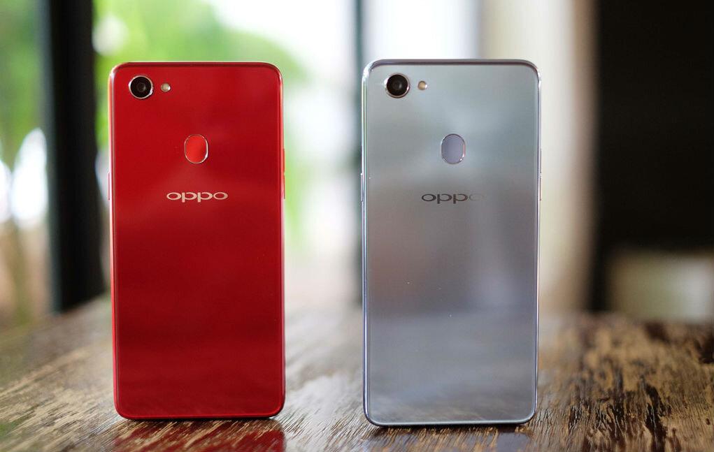 Oppo có thiết kế thời thượng, trẻ trung