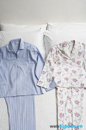 Quần áo ngủ chất liệu chống cháy