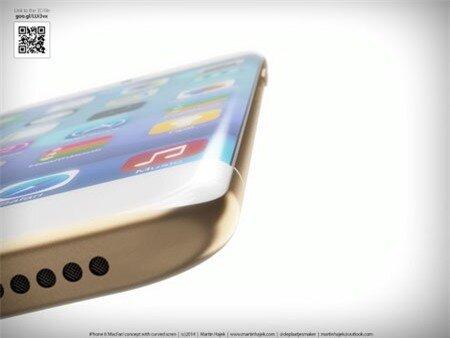 Một ý tưởng thiết kế iPhone 6.