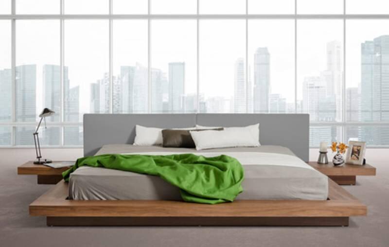 Chiếc giường có kích thước 236,2 x 317,5 x 66 (cm) đem đến sự hiện đại và sang trọng cho cả căn phòng ngủ của bạn