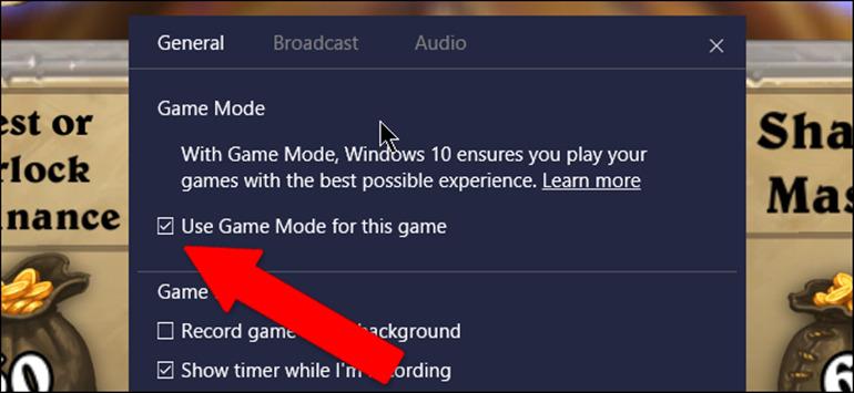 hướng dẫn kích hoạt chế độ game mode trên windows 10