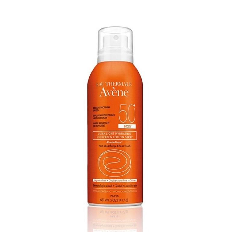 Kem chống nắng Avène Ultra-Light Hydrating Sunscreen Lotion Spray