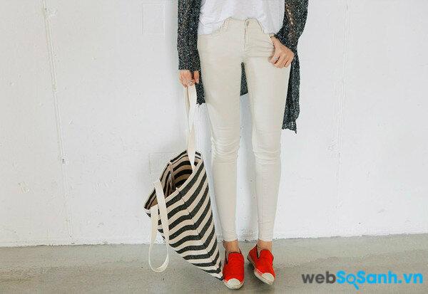 Mẫu giầy Slip on tuyệt đẹp và cách phối đồ cho mùa đông (ảnh internet)