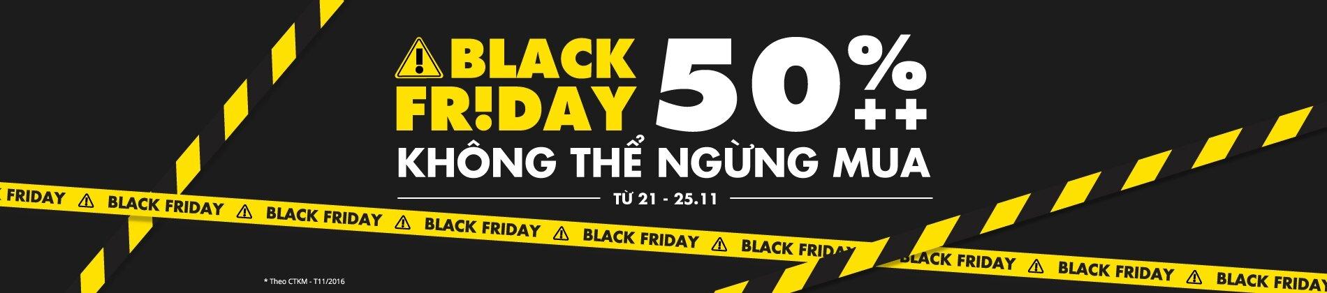 Tiki với chương trình Black Friday - Ngày đen giá đỏ