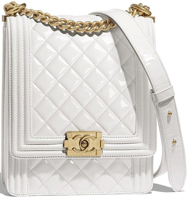 Chanel Boy North South Bag