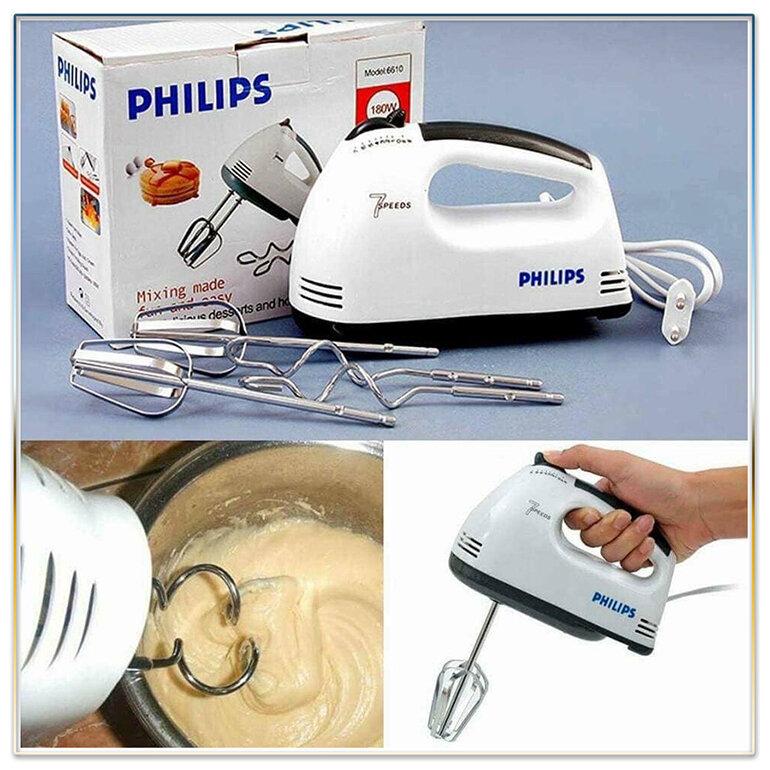 Máy đánh trứng cầm tay Philips có tốt không