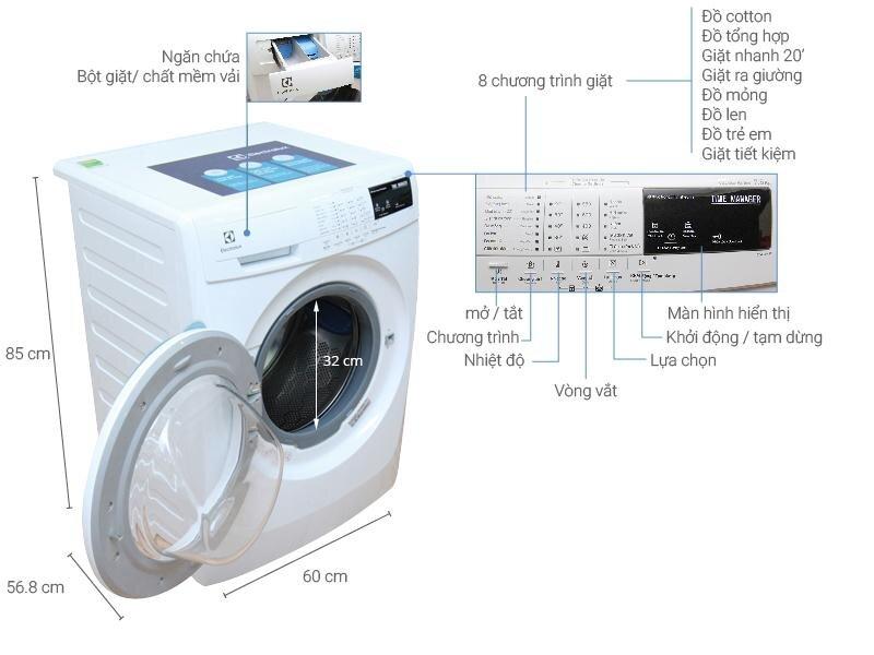 Máy giặt Electrolux EWT704S