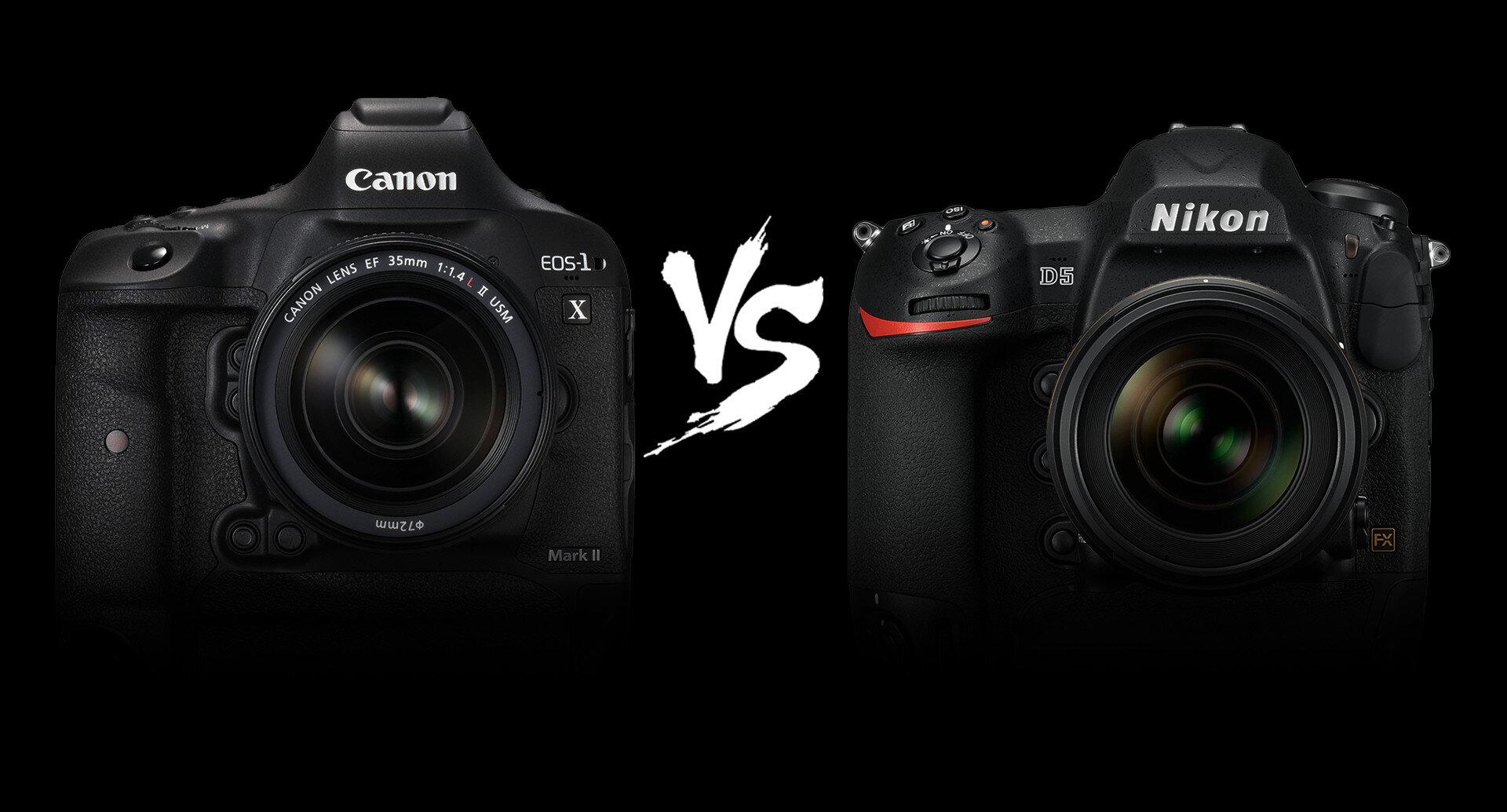 Máy ảnh Canon và Nikon đều có những ưu nhược điểm riêng