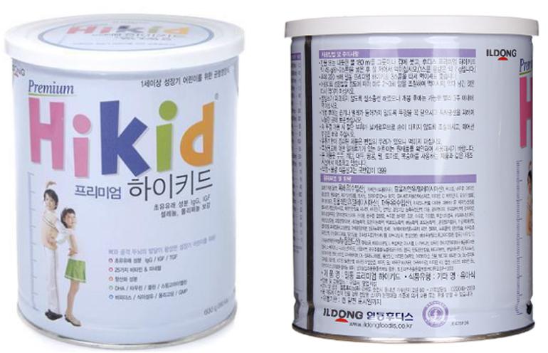 Sữa Hikid là sữa gì ? Của nước nào sản xuất ?