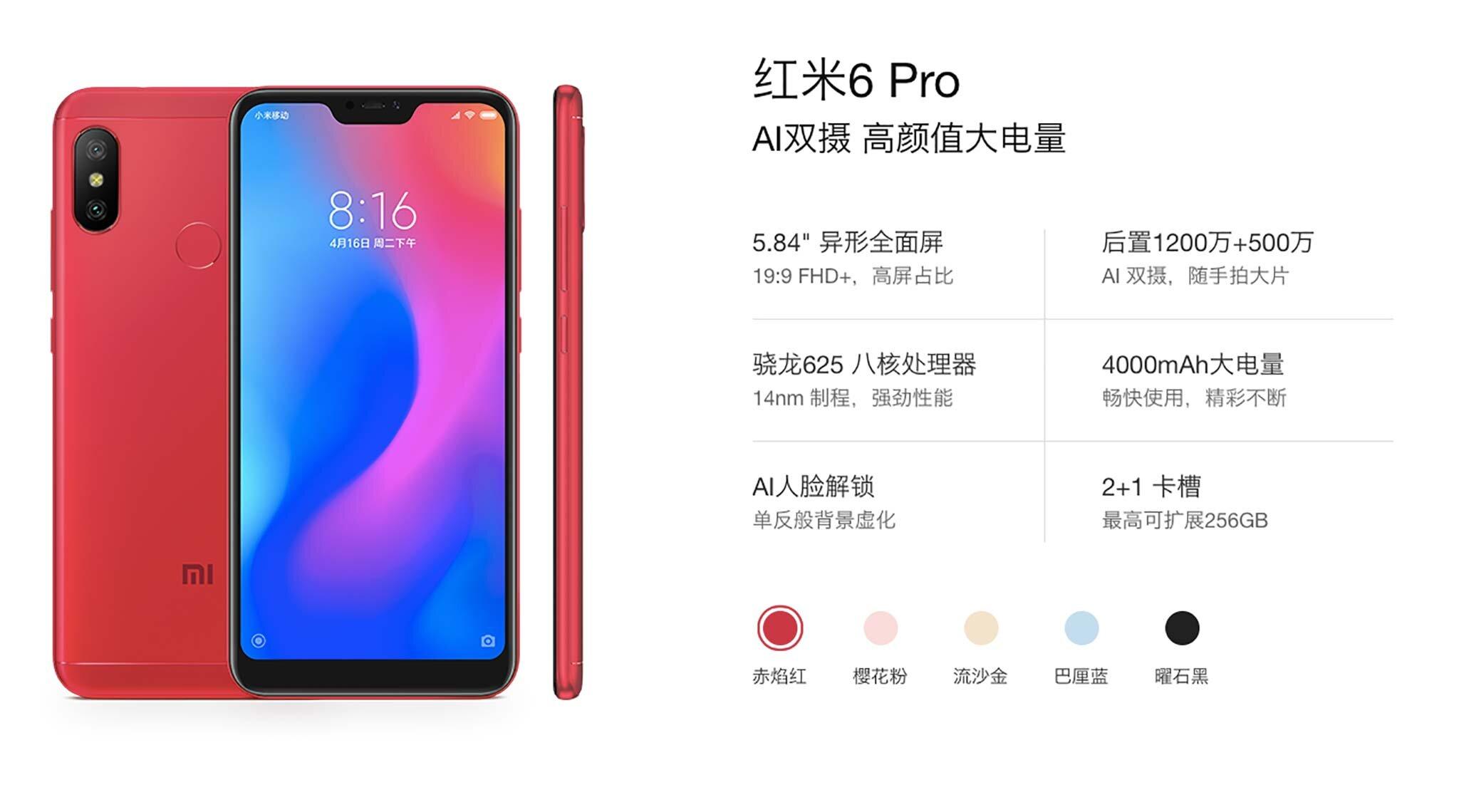 Xiaomi Redmi 6 là chiếc Smartphone đáng mua trong tầm giá 3 triệu